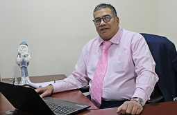 Mounssef Hilali Leiter des Werbeprojekts InDoor.TV