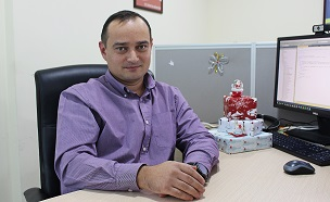 Roman Kvasnyj Leiter der Software-Entwicklungsabteilung